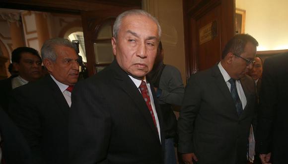 Pedro Chávarry se desempeñó como fiscal de la Nación por menos de seis meses. (Foto: Andina)