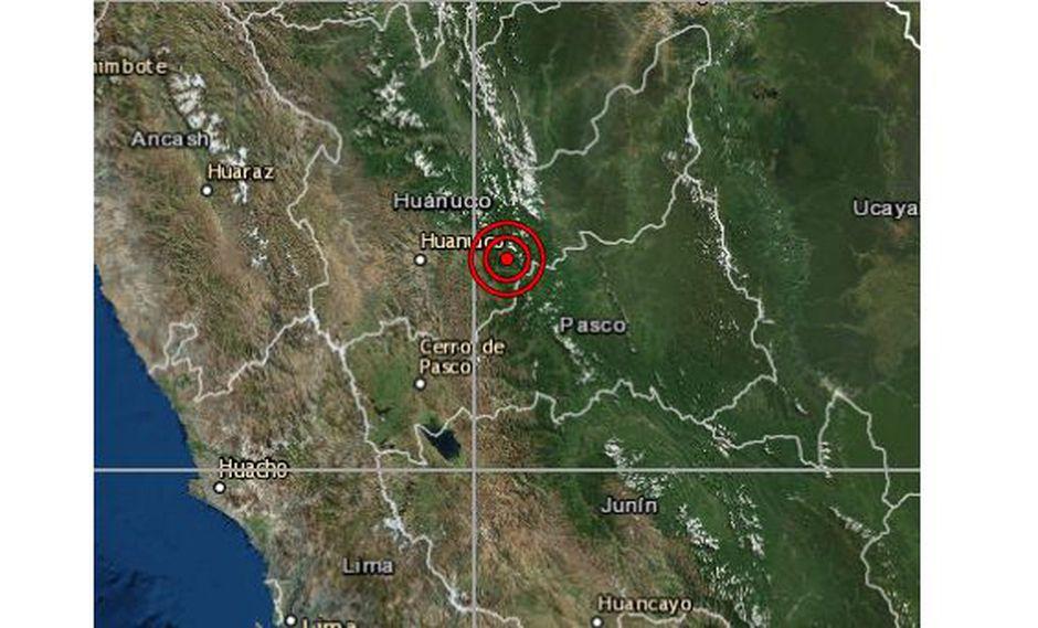 El movimiento no dejó víctimas ni daños materiales, informó el Instituto Geofísico del Perú. (Foto: IGP)