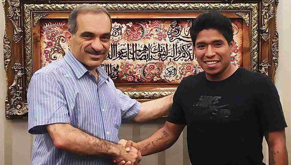 Willyan Mimbela jugará en el fútbol de Irán. (Foto: Tractor Sazi FC)