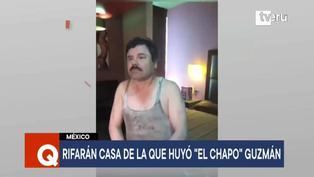 """Rifan casa donde huyó Joaquín """"El Chapo"""" Guzmán en México"""