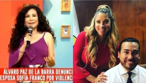 Janet Barboza tras declaraciones de mamá de Álvaro Paz de la Barra. (Foto: captura de video)
