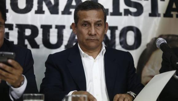 El ex presidente Ollanta Humala purga prisión preventiva por el caso Odebrecht. (Perú21)