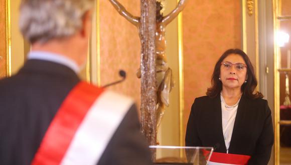 """Bermúdez aseveró que, tras conversar con la presidenta del Congreso, Mirtha Vásquez, la relación entre el Ejecutivo y el Legislativo """"pueden mejorar significativamente"""". (Foto: Presidencia)"""