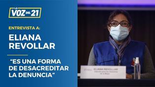 """Eliana Revollar sobre carta notarial de Bellido a congresista Chirinos: """"Es una forma de desacreditar la denuncia"""""""
