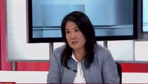 Keiko Fujimori (Captura/Canal N)