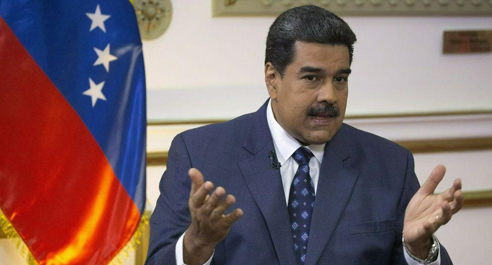 """Maduro sostiene que el informe está """"plagado de falsas afirmaciones, tergiversaciones y manipulaciones en el uso de datos y fuentes; carente de equilibrio y rigor, abiertamente parcializado"""".  (Foto: AP)"""