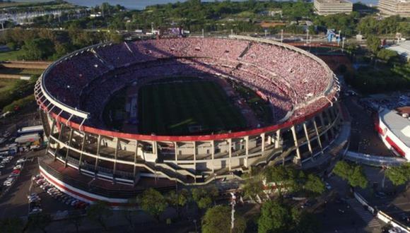 El Estadio Monumental de Núñez fue evacuado este martes debido a un aviso de bomba que alertó a todos en Argentina. (Foto: Agencias)