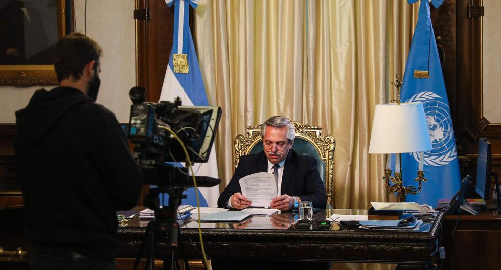 Presidente de Argentina apela a la solidaridad mundial para superar la pandemia del coronavirus