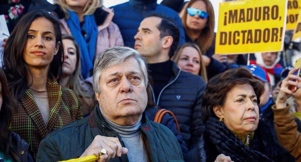 """""""Es una situación difícil, le pedimos al mundo ahora más que nunca que no nos dejen solos"""" frente a """"las mafias que han asaltado el poder"""" en Caracas, afirmó a periodistas el ex alcalde de la ciudad, Antonio Ledezma (EFE)."""