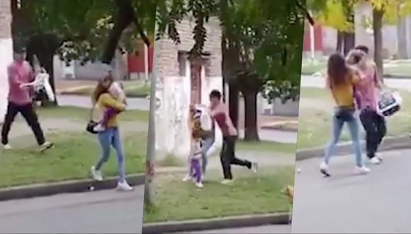 Mujer atacada