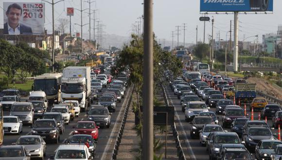 Lima entre las 5 peores ciudades del mundo para conducir, según Waze. (USI)