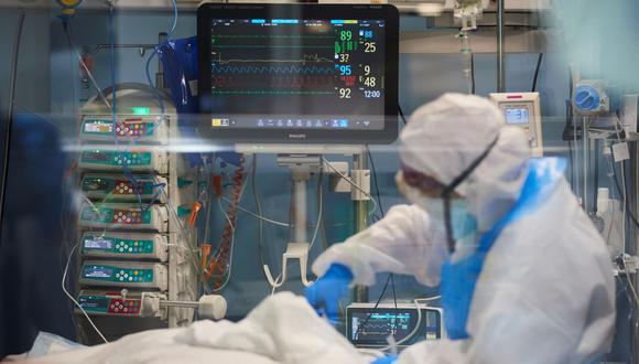 Se eleva la cifra de hospitalizados en UCI por el COVID-19 en el país.  (Foto: Fernando Sangama) | Foto referencial | EFE