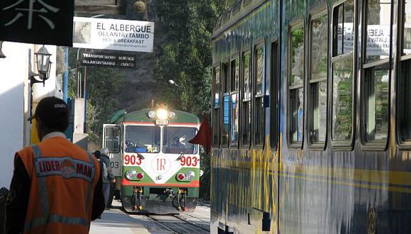 El tránsito en las estaciones Páchar, Ollantaytambo, Machu Picchu pueblo y la Hidroeléctrica continuará normalmente. (USI)