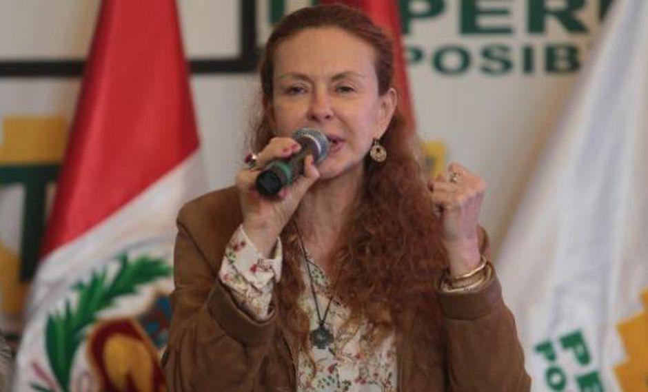 Eliane Karp protagonizó una escena al oír el fallo del juez. (Foto: Archivo El Comercio)