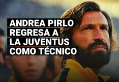 Andrea Pirlo retorna a la Juventus para convertirse en nuevo entrenador del equipo Sub 23