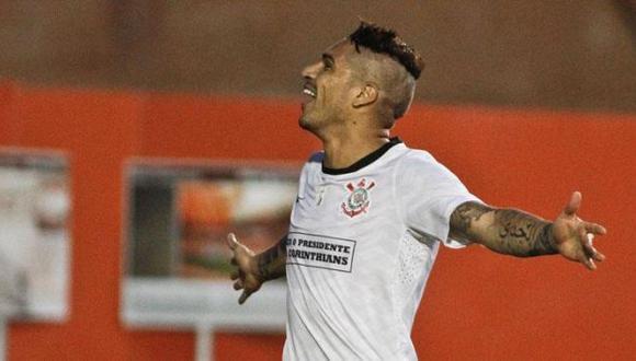 Suma cinco goles en Brasil. (Facebook-Corinthians)
