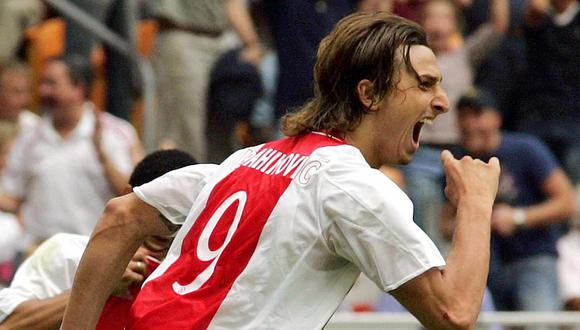 Ibrahimovic le anotó este golazo a NAC Breda por la Eredivisie. (Foto: AFP)