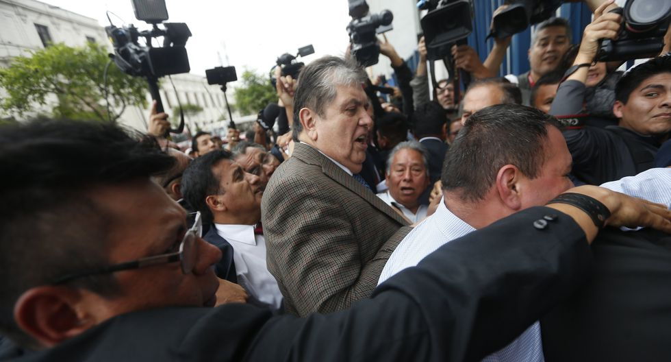 """César Villanueva tras rechazo de asilo a Alan García: """"No hay persecución política"""". (GEC)"""