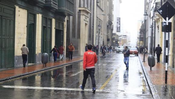 En Lima Oeste la temperatura mínima llegaría a 15°C, mientras que la máxima sería de 17°C. (Foto: GEC)