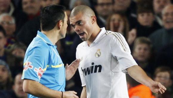 Pepe no es bien visto en el Viejo Continente. (Reuters)
