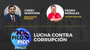 Yorry Warthon de Renovación Popular VS Pedro Morales de Acción Popular