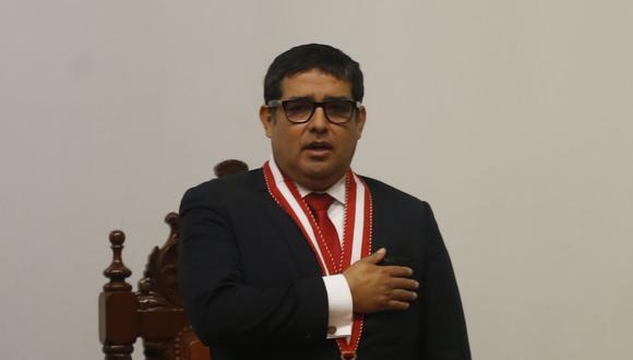 El fiscal supremos Víctor Rodríguez Monteza (Mario Zapata)