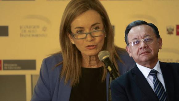 La ministra de Educación no se quedó calla tras escuchar a Alarcón. (Composición)