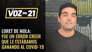 MatLab, Marco Loret de Mola: 'Un error del Gobierno fue dar la impresión que le estábamos ganando al COVID-19'