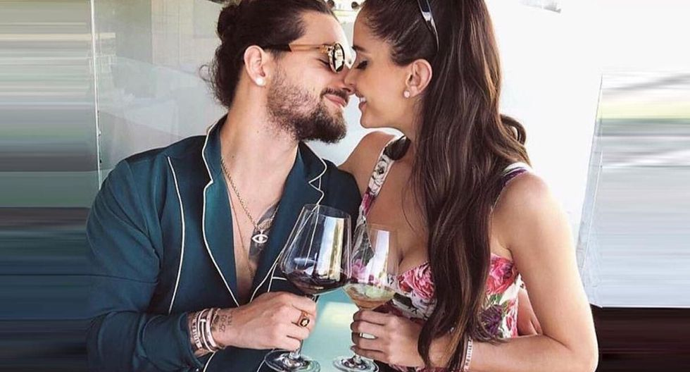 Natalia Barulich, novia de Maluma, publica saludo por el Día del Padre y desata rumores de embarazo. (Foto: @natalia)