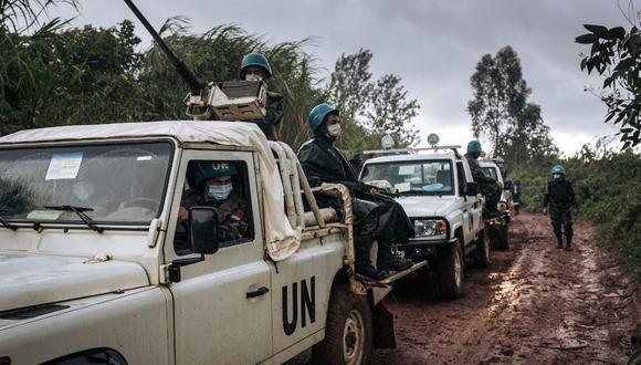 Foto referencial. El noreste de la República Democrática del Congo lleva años sumida en un largo conflicto alimentado por decenas de grupos armados rebeldes nacionales y extranjeros. (ALEXIS HUGUET / AFP)