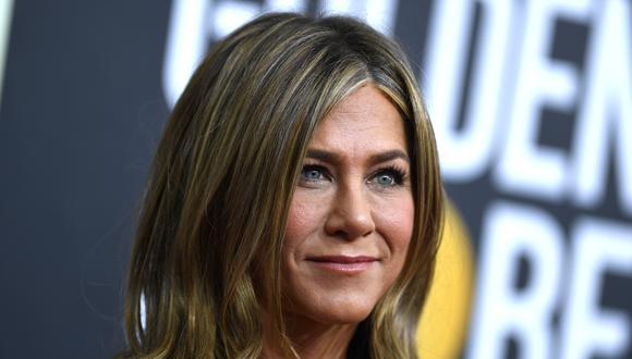 Jennifer Aniston donó sensual fotografía suya para reunir fondos contra el coronavirus. (Foto: AFP)