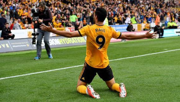 Raúl Jiménez ha anotado 6 goles en la presente temporada de la Premier League. (Foto: Wolverhampton)