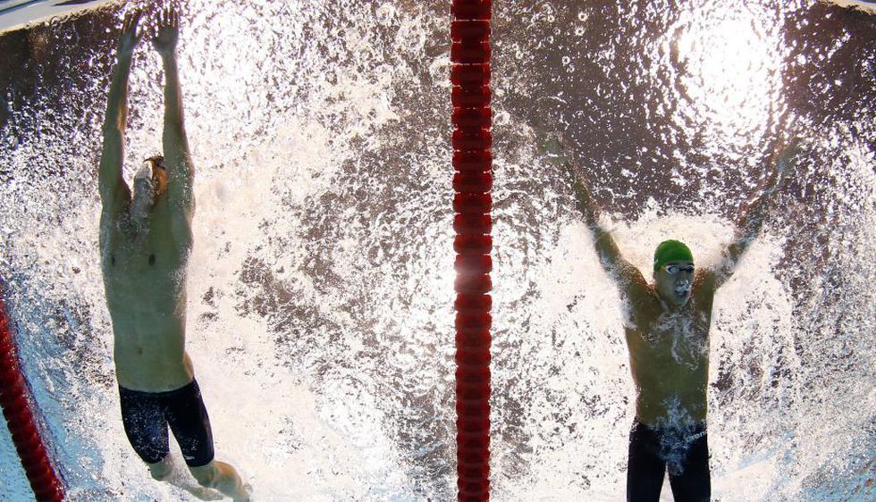 Michael Phelps se llevó 3 medallas de oro en Londres 2012. El 'Tiburón de Baltimore' sumó 6 preseas en dicha competencia. (AP)
