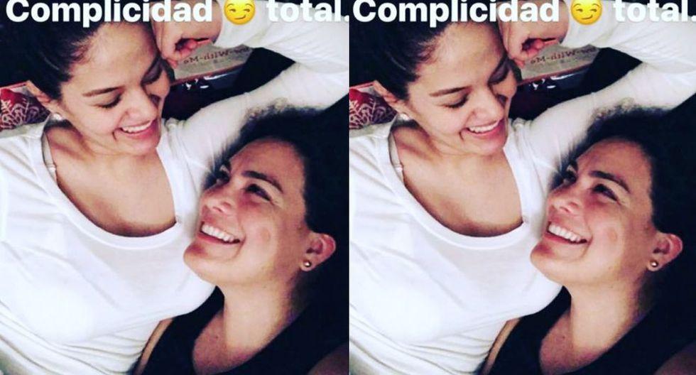 Katty García y su exesposa, Karim Vidal, en una postal cuando todo era felicidad. | Instagram