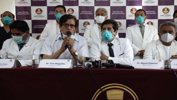 El Colegio Médico del Perú explicó que de los 237 contagiados, 9 de ellos se encuentran en la Unidad de Cuidados Intensivos (UCI). (Foto: Joel Alonzo/GEC)