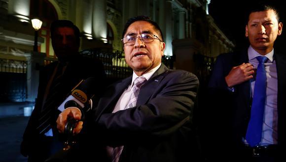 César Hinostroza protagoniza audios con el presidente del JNE, Víctor Ticona. (Foto: GEC)