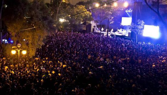 'Vivo por el rock' congrega a más de 20,000 personas. (Facebook Vivo por el rock)