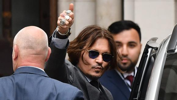 Johnny Depp: Tras perder querella por difamación contra The Sun, inicia un nuevo juicio. (Foto: AFP)