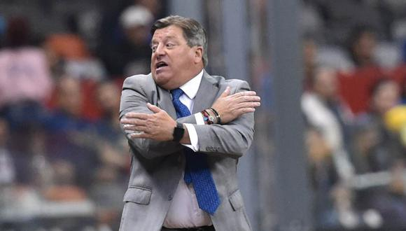 Miguel Herrera cargó contra el árbitro del Cruz Azul-América. (Foto: AFP)