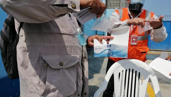 Ica: donaron 150 pruebas rápidas tras el pedido de los pescadores artesanales (Foto difusión).