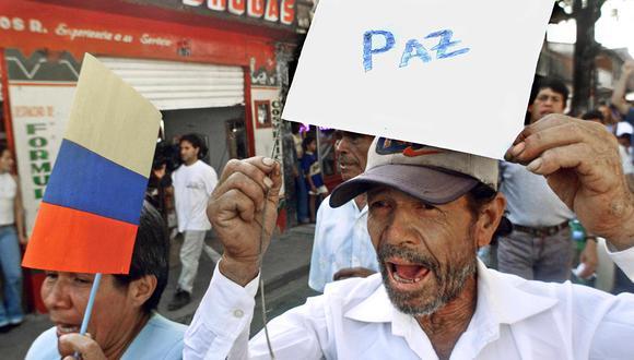 ONU pide que el proceso de paz continúe en Colombia. (Foto: AFP)