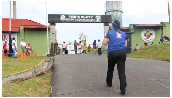 Loreto: Defensoría pide mejorar atención a usuarios en entrega de bonos tras desvanecimientos por largas colas (Foto: Defensoría del Pueblo)