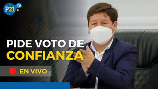 Gabinete Bellido pide el Voto de Confianza