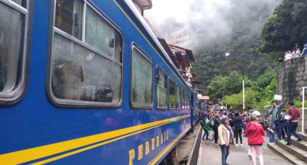 PeruRail anuncia suspensión del servicio del tren por hoy debido a paro en Cusco (Foto: Andina)