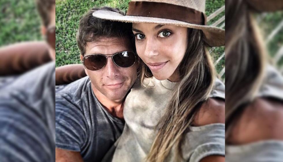 Christian Meier tiene 46 años y Alondra García Miró 25 años. (Foto: Instagram Christian Meier)