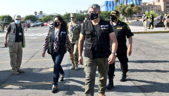El ministro del Interior, José Elice, aseguró que no se ha dado ninguna disposición que impida u obstaculice el ejercicio del derecho de sufragio a los miembros de la Policía. (Foto: Mininter)