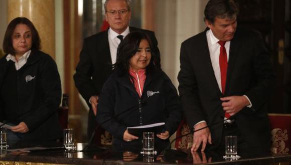"""Jara anunció que no entregará """"la cabeza"""" de ninguno de sus ministros pero recordó mecanismo de la censura. (Martín Pauca)"""