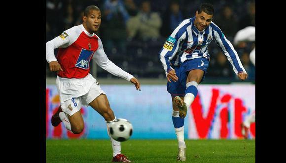 Alberto Rodríguez jugó en el Sporting Braga de Portugal. (Foto: AFP)