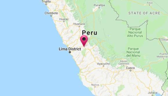 El epicentro del sismo fue ubicado a 17 kilómetros al Sur de La Oroya, en Yauli, Junín a las 2:14 a.m.