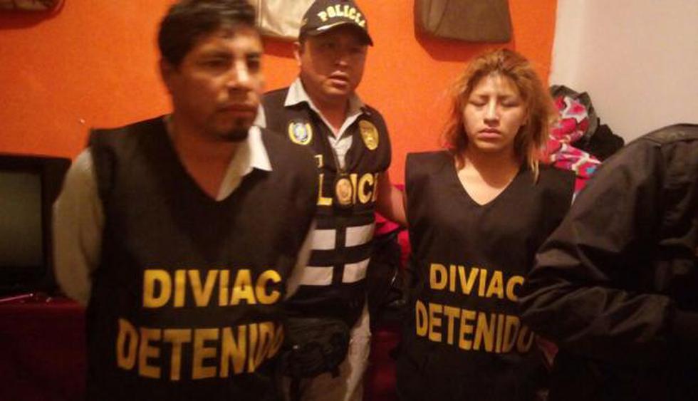 Fueron detenidos el 20 de marzo. (Mininter/Twitter)